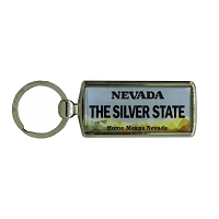 Key Chain - Nevada State License Plate