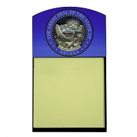 Post It Note with Nevada State Seal Holder