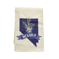 Flour Sack Towel - Nevada Reflex Blue