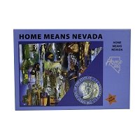 Puzzle - Nevada Magazine Poster with State Seal