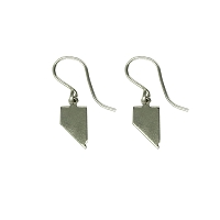 Earrings - Nevada Silver