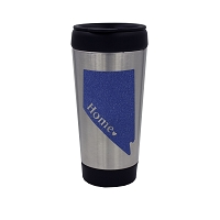 Travel Mug - Coffee Tumbler - Nevada Blue