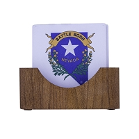 Coaster - Nevada Battle Born on Stone - Set of 4