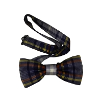 Bow Tie - Nevada Tartan Bow Tie - Adjustable