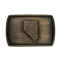 Belt Buckle - Nevada Bronze - Rectangle