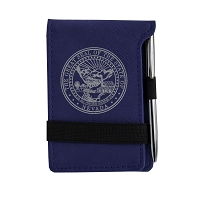 Note Pad with Nevada State Seal - leathrette with Pen