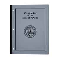 Constitution of the State of Nevada Booklet with Index