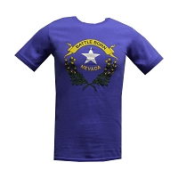 T-Shirt - Battle Born Logo - Short Sleeve - Royal - Adult Sizes
