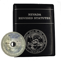 NRS Reprint (Pages Only) and Official Nevada Law Library on Disc