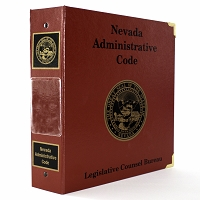Nevada Administrative Code Binder