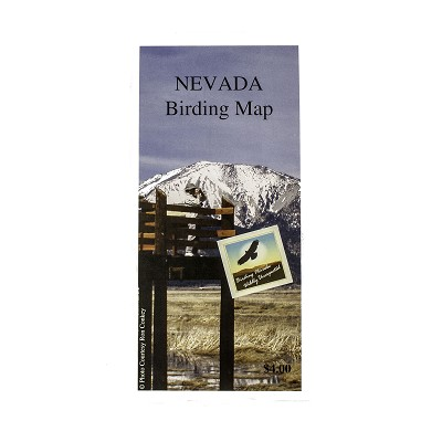 NEVADA – Birding Map by Nevada Commission on Tourism