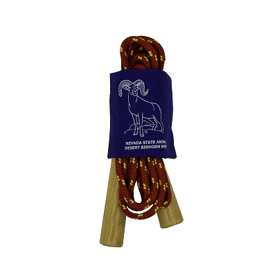 Jump Rope with Pouch Featuring Desert Bighorn Sheep