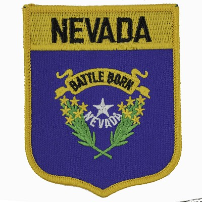 Patch - Battle Born Logo Shield Iron-on Patch