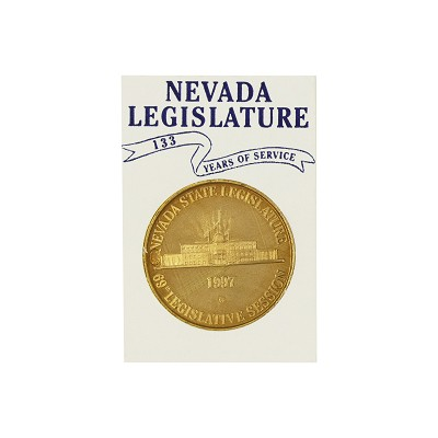 Medallion - 1997 Bronze Nevada Legislative Medallion
