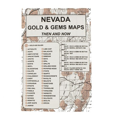 Nevada Gold and Gems Maps Then and Now