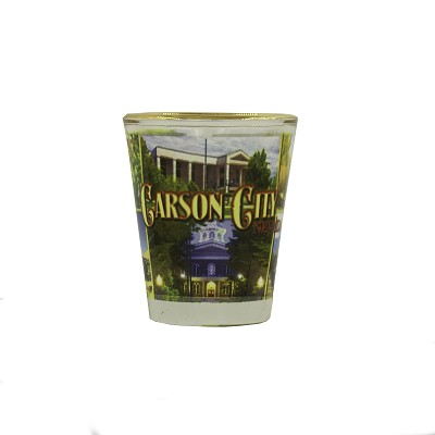 Carson City, Nevada Shot Glass - 1.5 oz.