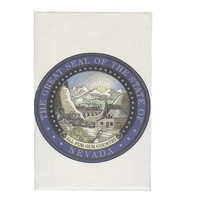 Tea Towel with Nevada State Seal
