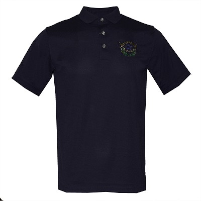 Callaway Golf Shirt with Battle Born Logo - Navy