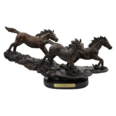 Bronze Sculpture Freedom - Horses