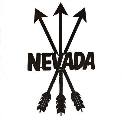 "Yard Art - Arrows ""NEVADA"""