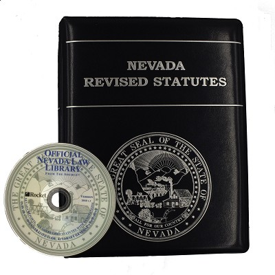 Nevada Revised Statutes >> NRS Pages with Binders and Official Nevada Law Library on USB