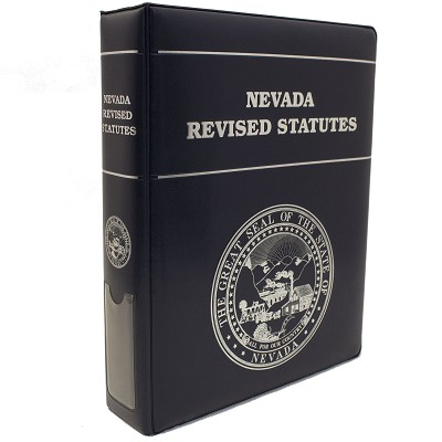 Nevada Revised Statutes 2019<br>Pages Only