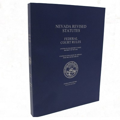 NRS Court Rules Volume IV - Federal Court Rules<br>Paper Bound