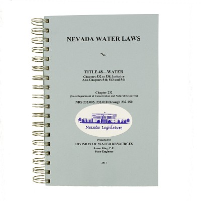 Nevada Water Laws 2017